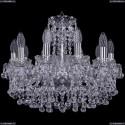 1409/10/160/Ni Хрустальная подвесная люстра Bohemia Ivele Crystal