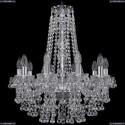 1409/10/195/h-63/Ni Хрустальная подвесная люстра Bohemia Ivele Crystal