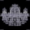 1409/10/195/Ni Хрустальная подвесная люстра Bohemia Ivele Crystal