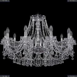1409/10/300/Ni Хрустальная подвесная люстра Bohemia Ivele Crystal
