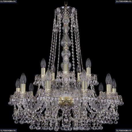 1409/10+5/240/h-77/G Подвесная люстра Bohemia Ivele Crystal (Богемия), 1409