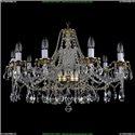 1613/10/300/G Хрустальная подвесная люстра Bohemia Ivele Crystal