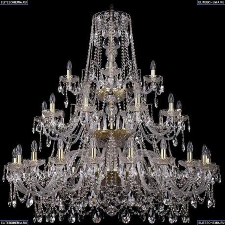 1411/20+10+5/460/3d/G Подвесная люстра Bohemia Ivele Crystal (Богемия), 1411
