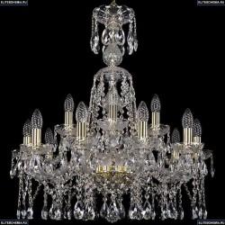 1413/10+5/220/XL-74/G Подвесная люстра Bohemia Ivele Crystal (Богемия), 1413