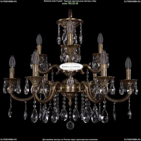 1702/6+3/265+181/A/FP Хрустальная подвесная люстра Bohemia Ivele Crystal