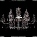 1702/6+6/300+150/A/NB Хрустальная подвесная люстра Bohemia Ivele Crystal