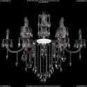 1702/6+6/300+150/B/NB Хрустальная подвесная люстра Bohemia Ivele Crystal