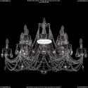 1702/6+6/335+150/C/NB Хрустальная подвесная люстра Bohemia Ivele Crystal (Богемия)