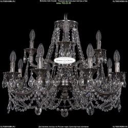 1702/8+4/265+181/C/NB Хрустальная подвесная люстра Bohemia Ivele Crystal