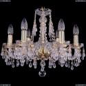 1410/6/160/G/V0300 Хрустальная подвесная люстра Bohemia Ivele Crystal