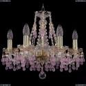 1410/6/160/G/V7010 Хрустальная подвесная люстра Bohemia Ivele Crystal