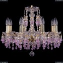 1410/8/160/G/V7010 Хрустальная подвесная люстра Bohemia Ivele Crystal