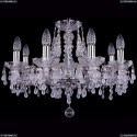 1410/8/195/Ni/V0300 Хрустальная подвесная люстра Bohemia Ivele Crystal (Богемия)