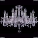 1410/8/195/Ni/V0300 Хрустальная подвесная люстра Bohemia Ivele Crystal