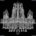 1410/10/141/Ni/V0300 Хрустальная подвесная люстра Bohemia Ivele Crystal