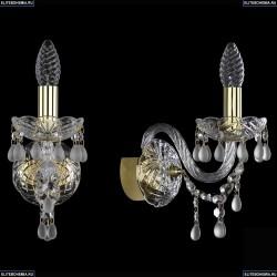 1410/1/G/V0300 Хрустальное бра Bohemia Ivele Crystal (Богемия)