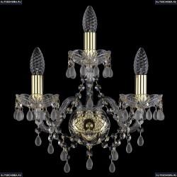 1410B/2+1/141/Ni/V0300 Хрустальное бра Bohemia Ivele Crystal