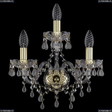 1410B/2+1/141/Ni/V0300 Хрустальная бра Bohemia Ivele Crystal (Богемия)