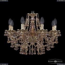16109/8/195 G M777 Хрустальная подвесная люстра с металлической чашкой Bohemia Ivele Crystal