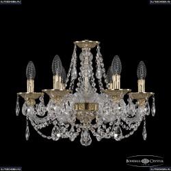 16106/6/165 G Хрустальная подвесная люстра с металлической чашкой Bohemia Ivele Crystal