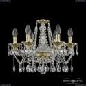 16113/6/165 G Хрустальная подвесная люстра с металлической чашкой Bohemia Ivele Crystal
