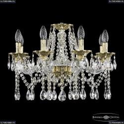 16113/8/200 G Хрустальная подвесная люстра с металлической чашкой Bohemia Ivele Crystal (Богемия), 1613