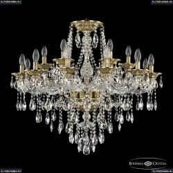16115/12+6/300 FP Хрустальная подвесная люстра с металлической чашкой Bohemia Ivele Crystal
