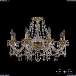 16103/8/240 FP K721 Хрустальная подвесная люстра с металлической чашкой Bohemia Ivele Crystal