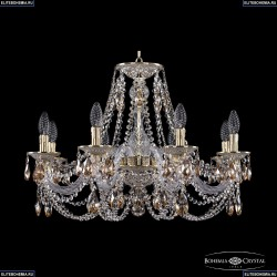 16106/8/240 GW K721 Хрустальная подвесная люстра с металлической чашкой Bohemia Ivele Crystal (Богемия), 1606