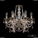 16111/6/165 GB R721 Хрустальная подвесная люстра с металлической чашкой Bohemia Ivele Crystal