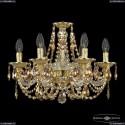 16106/6/165 G R777 Хрустальная подвесная люстра с металлической чашкой Bohemia Ivele Crystal