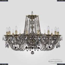 16102/16/300 GB M781 Хрустальная подвесная люстра с металлической чашкой Bohemia Ivele Crystal