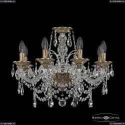 16111/8/195 FP Хрустальная подвесная люстра с металлической чашкой Bohemia Ivele Crystal (Богемия), 1611