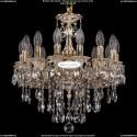 1702/14/CK125IV/B/GW Хрустальная подвесная люстра Bohemia Ivele Crystal