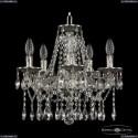 16113/5/141 NB Хрустальная подвесная люстра с металлической чашкой Bohemia Ivele Crystal