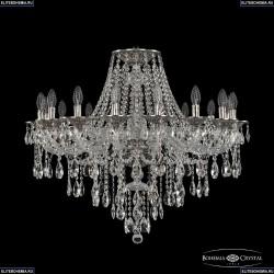 16115/16/300 NB Хрустальная подвесная люстра с металлической чашкой Bohemia Ivele Crystal