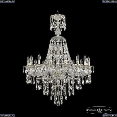 16115/16/300/XL-115 GW Хрустальная подвесная люстра с металлической чашкой Bohemia Ivele Crystal (Богемия), 1615