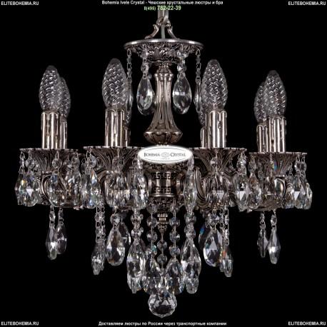 1702/8/CK125IV/B/NB Хрустальная подвесная люстра Bohemia Ivele Crystal