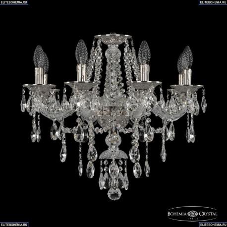 16115/8/200 Ni Хрустальная подвесная люстра с металлической чашкой Bohemia Ivele Crystal (Богемия), 1615