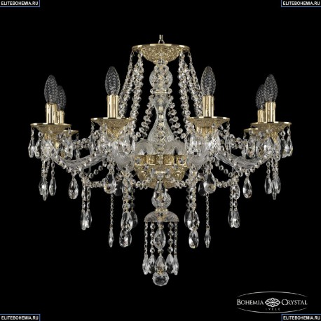 16115/8/240 G Хрустальная подвесная люстра с металлической чашкой Bohemia Ivele Crystal