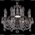 1702/8/CK125IV/C/NB Хрустальная подвесная люстра Bohemia Ivele Crystal