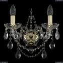 1411B/2/141/G Хрустальное бра Bohemia Ivele Crystal
