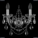 1411B/2/141/Ni Хрустальное бра Bohemia Ivele Crystal