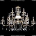 1722/6+3+3/335/A/GW Большая хрустальная подвесная люстра Bohemia Ivele Crystal (Богемия)