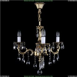 1701/3/B/GB Хрустальная подвесная люстра Bohemia Ivele Crystal (Богемия)
