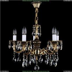 1701/5/A/GB Хрустальная подвесная люстра Bohemia Ivele Crystal (Богемия)