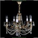 1702/5/CK175IV/C/GB Хрустальная подвесная люстра Bohemia Ivele Crystal
