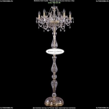 5511/5/195-160/G Хрустальный торшер Bohemia Ivele Crystal