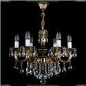 1701/6/B/GB Хрустальная подвесная люстра Bohemia Ivele Crystal (Богемия)
