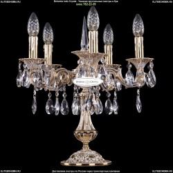 7001/5/125-51/A/GW Настольная лампа с элементами художественного литья и хрусталем Bohemia Ivele Crystal (Богемия)